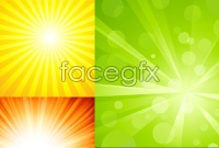 Link toRadiation beam bright background vector