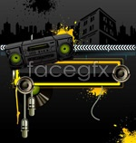 Radio themes vector