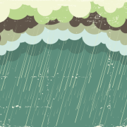 Link toRain with grunge background vector free