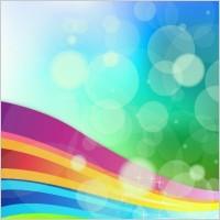 Link toRainbow background vector illustration