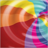 Link toRainbow color vector background