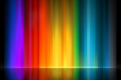 Link toRainbow-colored light background vector