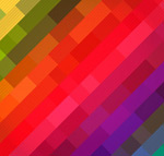 Link toRainbow colored square background vector