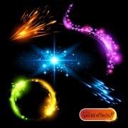 Link toRainbow light effects design vector 03