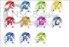 Rainbow software desktop icons
