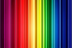 Rainbow striped background vector