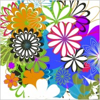 Link toRandom free vectors - part 7: flowers