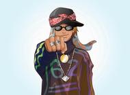 Rapper vector free