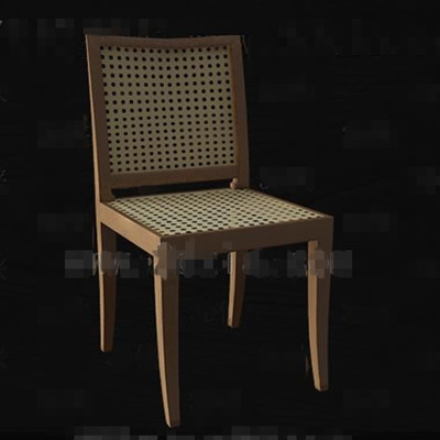 Link toRattan knitted hollowing chair 3d model