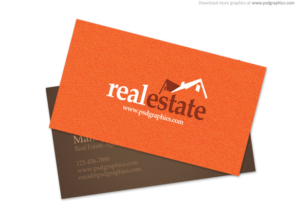 Link toReal estate business card psd