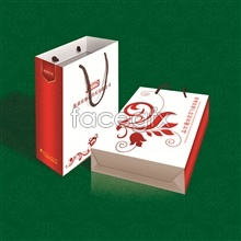Link toReal estate company paper gift bags psd