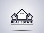 Link toReal estate logo design vector