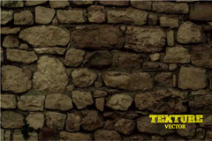 Link toReal old stone wall background vector