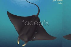 Link tovector rays, ocean deep style Realist