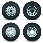 Link toRealistic car tires illustration design vector 04 free