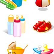 Link toRealistic children toys creative design graphics 02 free
