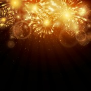 Link toRealistic fireworks colored background vector graphics 07 free