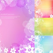 Link toRealistic flowers background vector