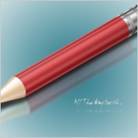 Link toRealistic pencil psd layered source files
