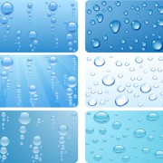 Link toRealistic water drop vector background 01 free