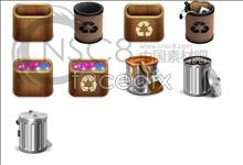 Link toRecycle bin desktop icon