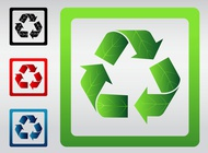 Link toRecycle signs vector free