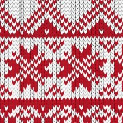 Link toRed and white fabric pattern vector free