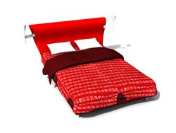 Link toRed card wow iraq cloth art the hammock 3d models