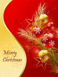 Link toRed christmas background pictures to download