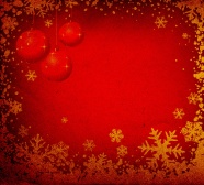 Link toRed christmas flower border pictures