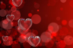 Link toRed crystal love background vector