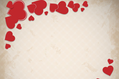 Link toRed diagonal love background vector