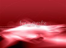Link toRed dynamic colorful rendering of light dynamic effects psd