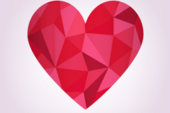 Link toRed geometric love vector