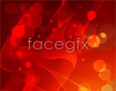 Link tovector background halo Red