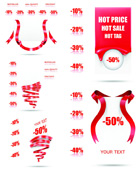 Link toRed ribbon sale tags