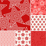 Red shading pattern vector