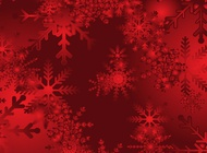Link toRed snow background vector free