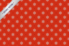 Link toRed snow seamless pattern background design vector