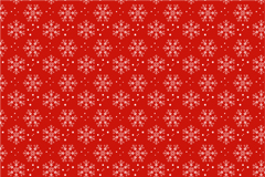 Link toRed snowflake vector background