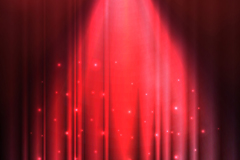 Link toRed spotlight stage background vector