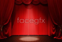 Link toRed stage curtain background high definition pictures