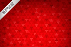 Link toRed triangle stitching seamless vector background illustration