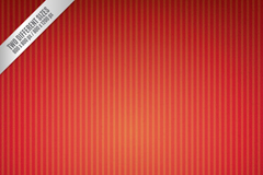 Red vertical striped background vector