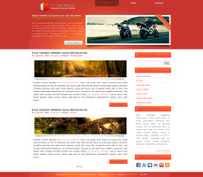 Link toRedfaceblog wordpress template