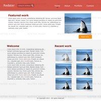 Link toRedster: psd portfolio