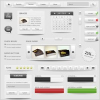 Link toRefined and practical web elements 03 psd layered