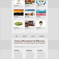 Link toRefined and practical web template 12 psd layered