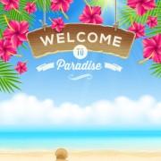 Link toRefreshing summer time vector background 01 free