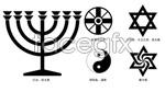 Link toReligious logo vector